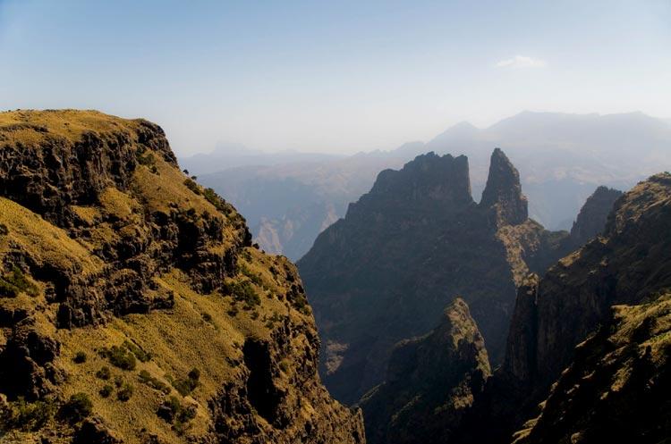 Etiopia - Góry Semien