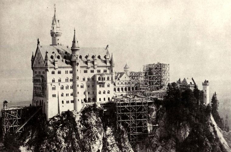 Johannes Bernhard - Neuschwanstein Baustelle