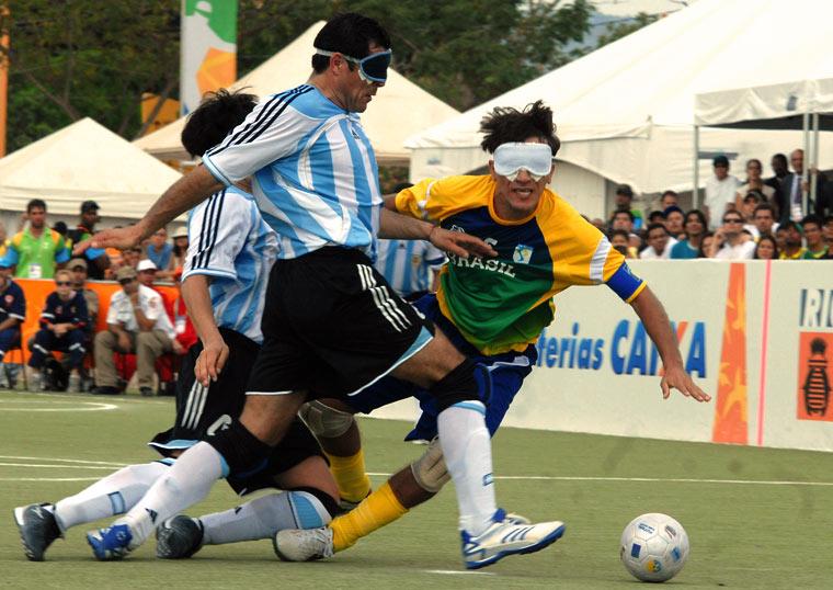 Piłka dla niewidomych