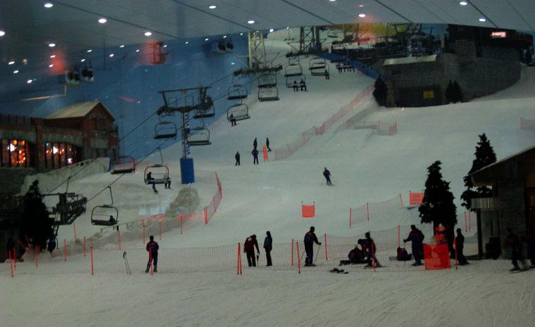 Ski Dubai Chairlift