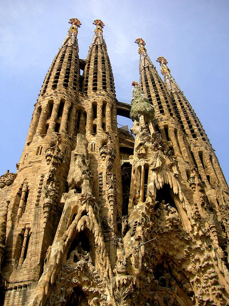 Sagrada Família w Barcelonie