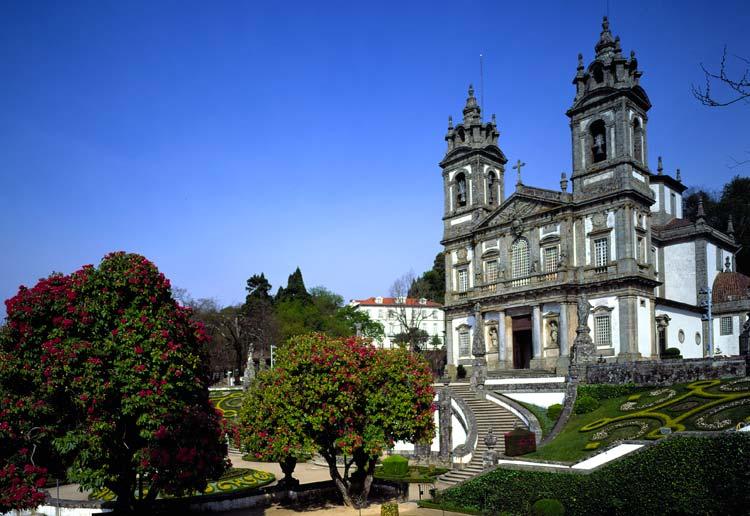 kościół Bom Jesus do Monte (Dobrego Jezusa ze Wzgórza)