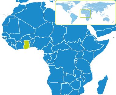 Ghana  - Przewodnik turystyczny