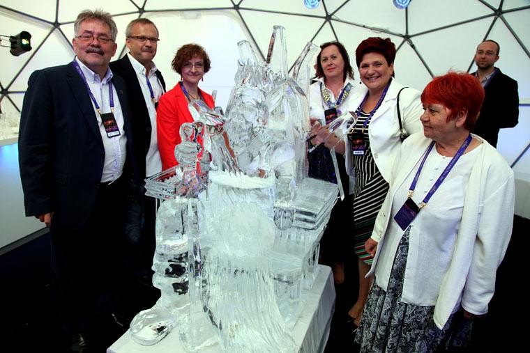 Rzeźba lodowa - Zaginione Królestwo