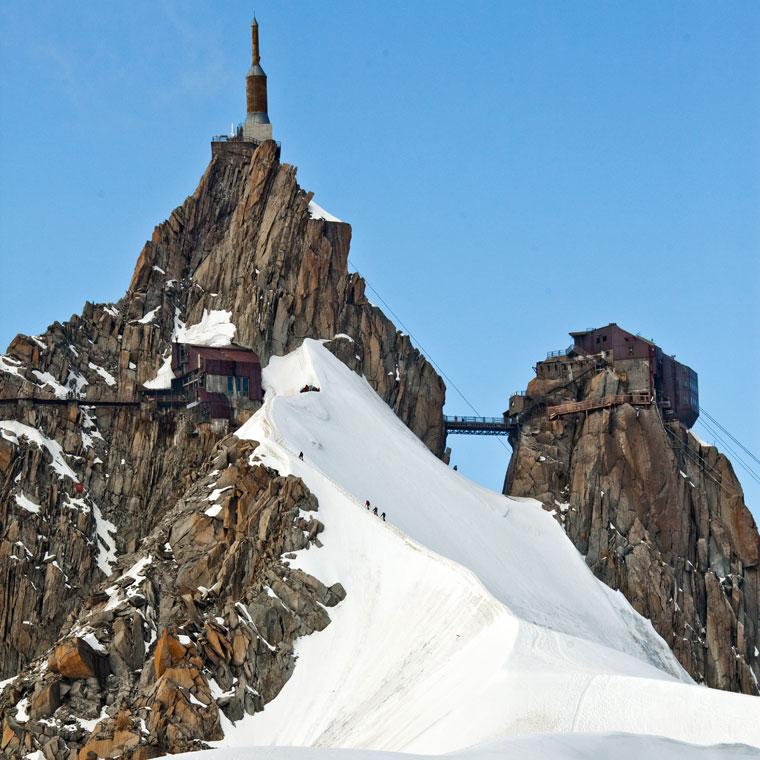 Most Aiguille du Midi