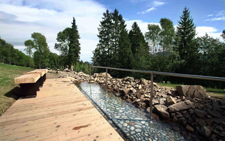 Park balneologiczny w Jesionikach