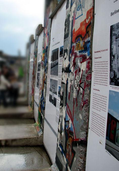 Mur berliński, Berlin, Niemcy