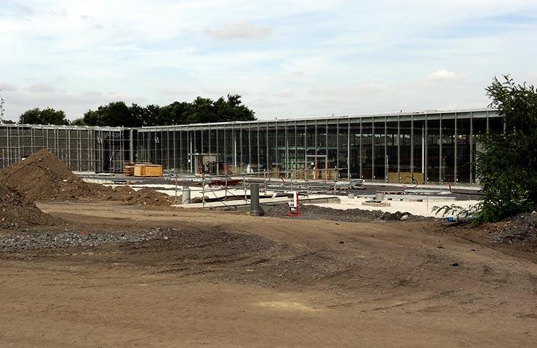 Budowa Muzeum Louvre Lens