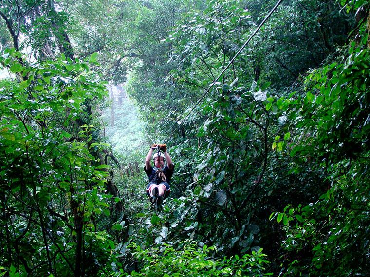 Canopy Tours, Kostaryka