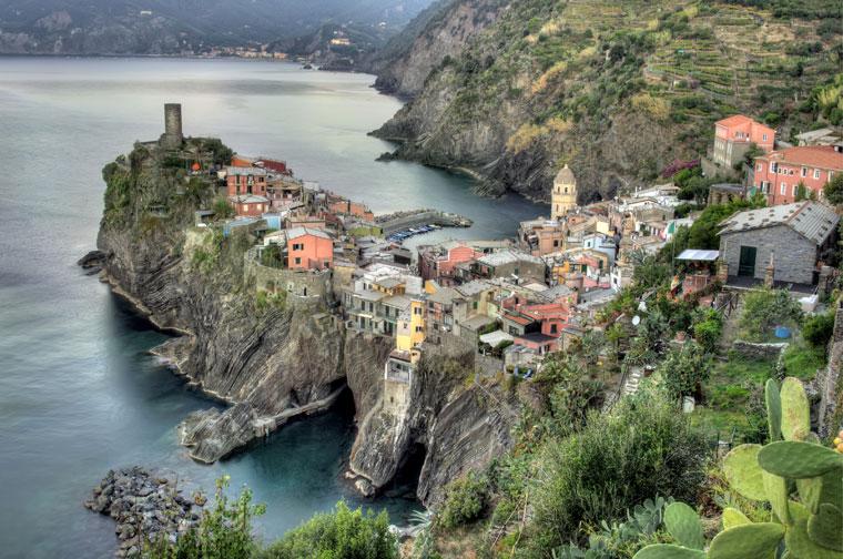 Cinque Terre, Vernazza village, Włochy
