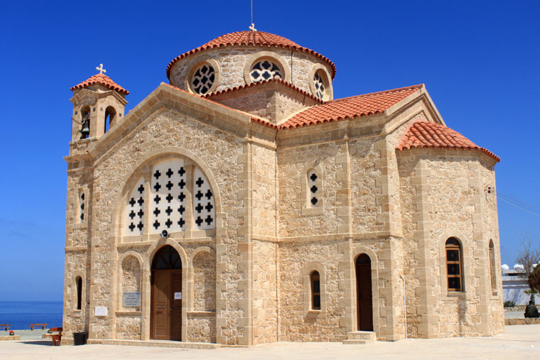 Kościół Agios Georgios we wsi Pegeia, Cypr