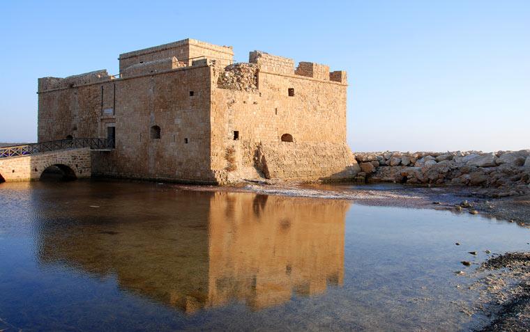 Zamek w Pafos na Cyprze
