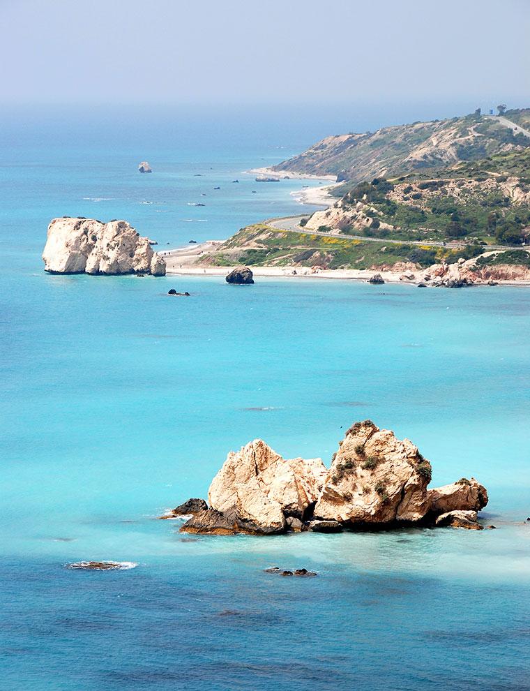 Kamień Afrodyty Cypr