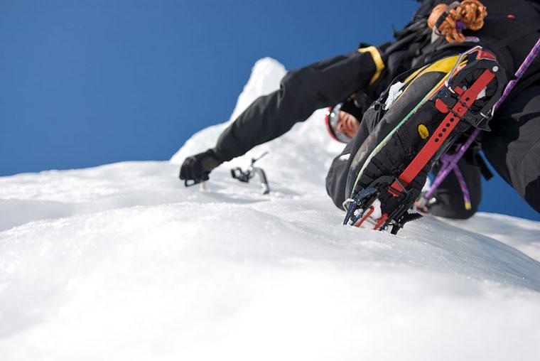 Dolina Stubai Glacier Iceclimbing - wspinaczka lodowa