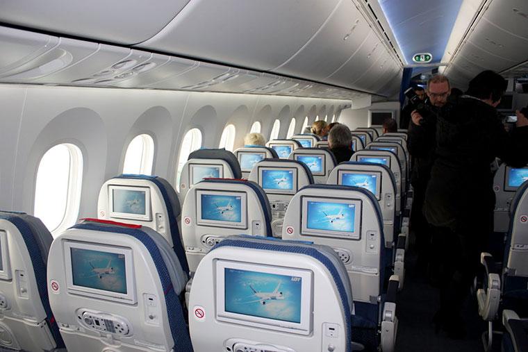 Boeing 787 Dreamliner, PLL LOT, Balice, Kraków