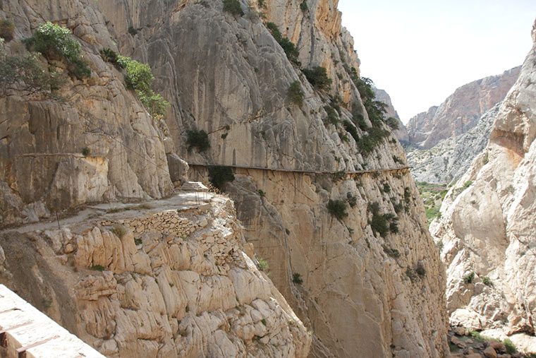 El Camino del Rey, Hiszpania