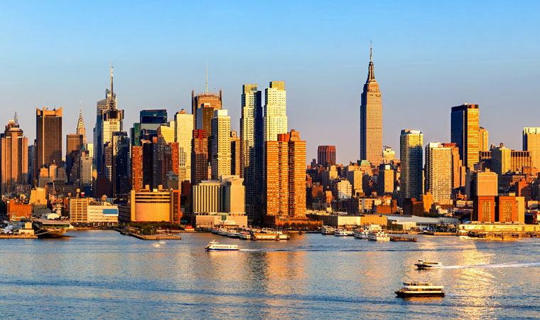 Empire State Building w Nowym Jorku w USA
