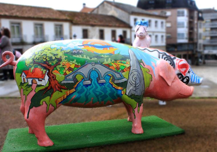 Figury świń, Feira do Cocido