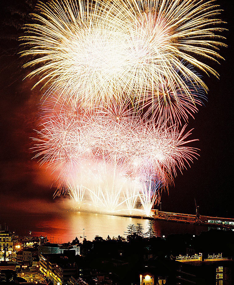 June - Atlantic Festival Fireworks