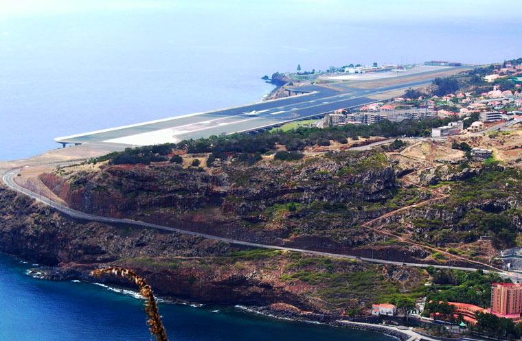 Lotnisko na Wyspie Madera