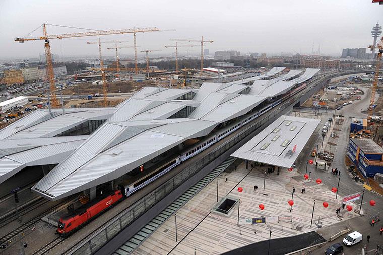Dworzec główny Wien Hauptbahnhof