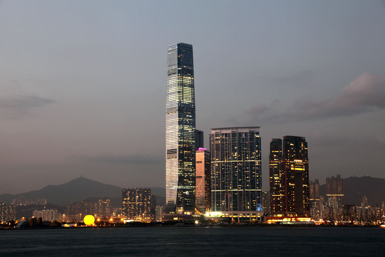 International Commerce Centre, Hongkong