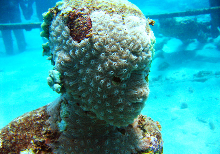 Podwodne rzeźby