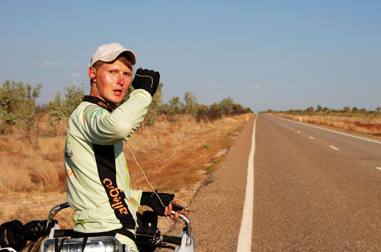 Joachim Czerniak, Wyprawa po Australii