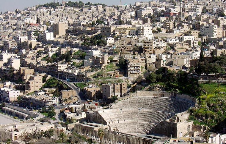 Rzymski teatr w Ammanie, Jordania