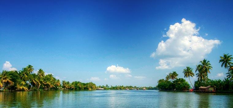 Rozlewiska Kerali, Indie
