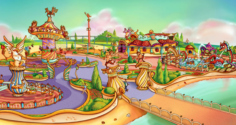 Laguna Magicznych Stworzeń - Adventure World Warsaw