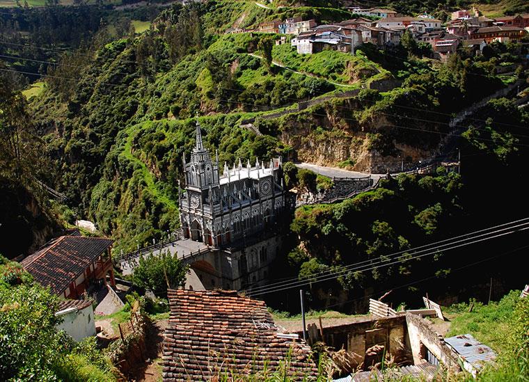 Sanktuarium Las Lajas, Kolumbia