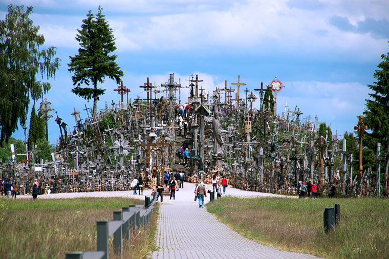 Góra Krzyży w Szawlach, Litwa