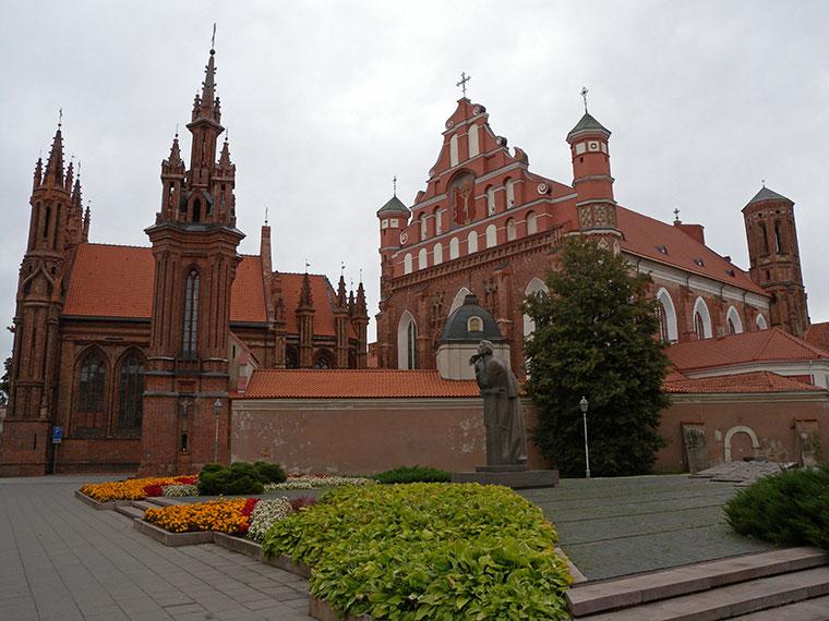 Kościół św. Anny w Wilnie, Litwa