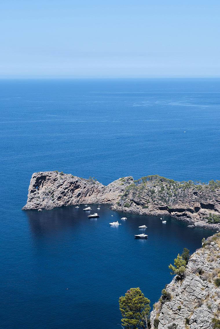 Wyspa Majorka - Hiszpania - Widok oceanu