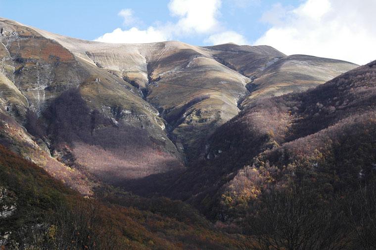 Monti sibillini, Włochy