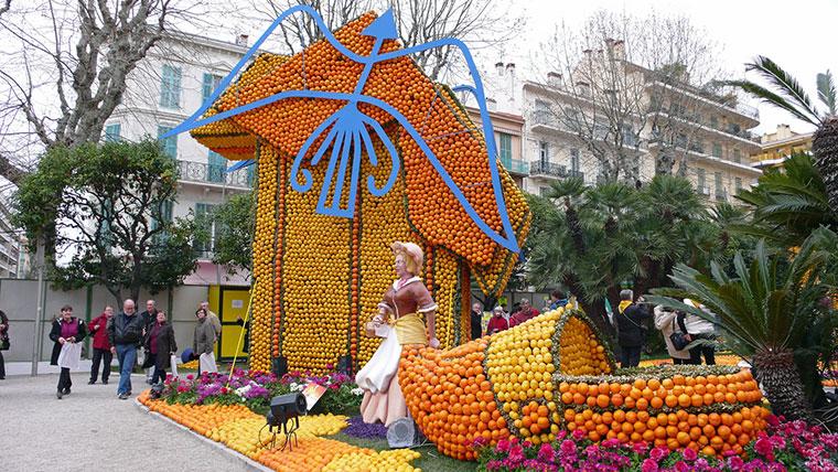 Święto Cytryny w Menton, Francja