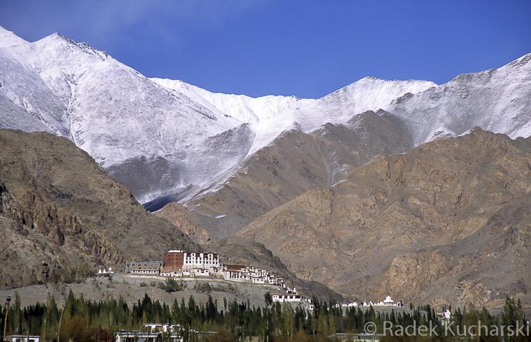 Klasztor Phyang w środkowym Ladakhu, nieopodal stolicy regionu - Leh