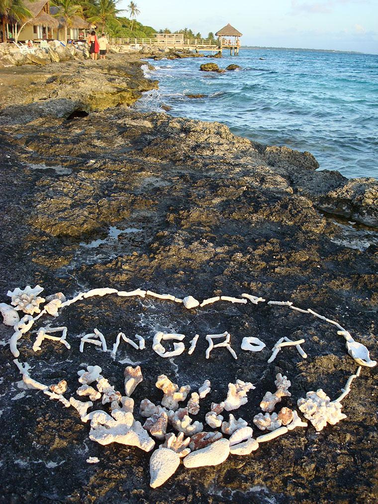 Wyspa Rangiroa, Polinezja Francuska