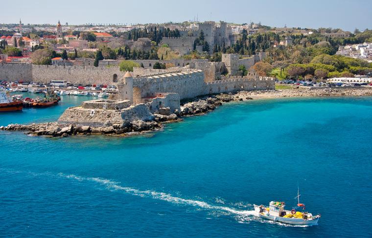 Wyspa Rodos - Port