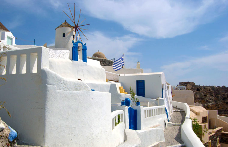 Santorini - Oia Windmill
