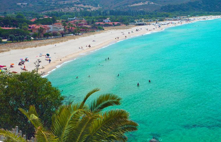 Plaża na wyspie Sardynia