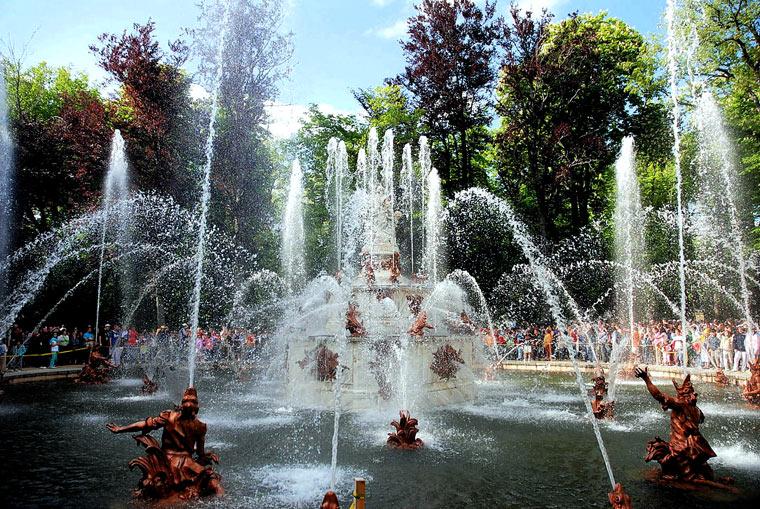 Fontanna w Segovii, Hiszpania