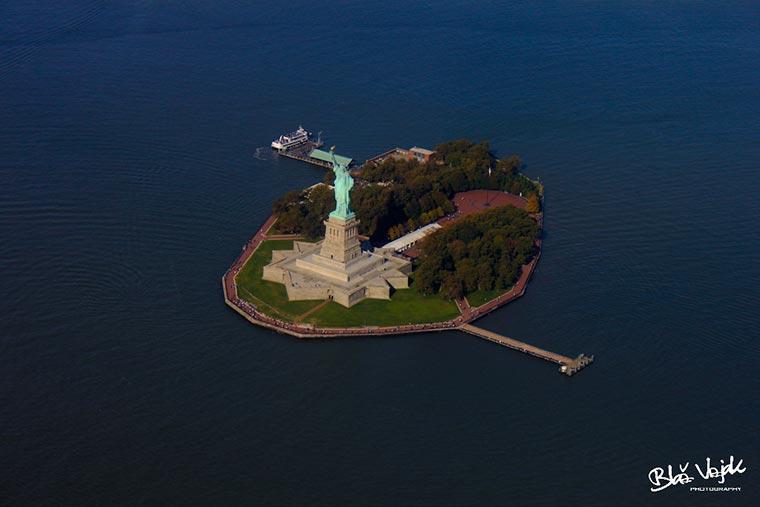 Statua Wolności na wyspie Liberty, USA