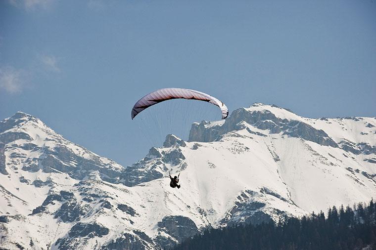 StubaiTirol Elferlifte Paragliding