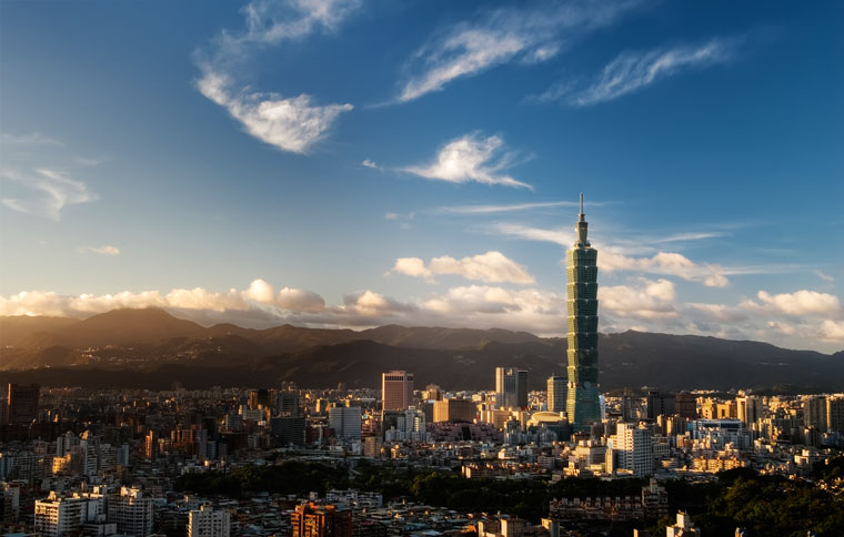Taipei 101 w stolicy Tajwanu, Tajpej