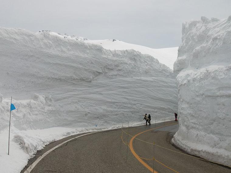 Tateyama-Kurobe Alpen Route, Japonia