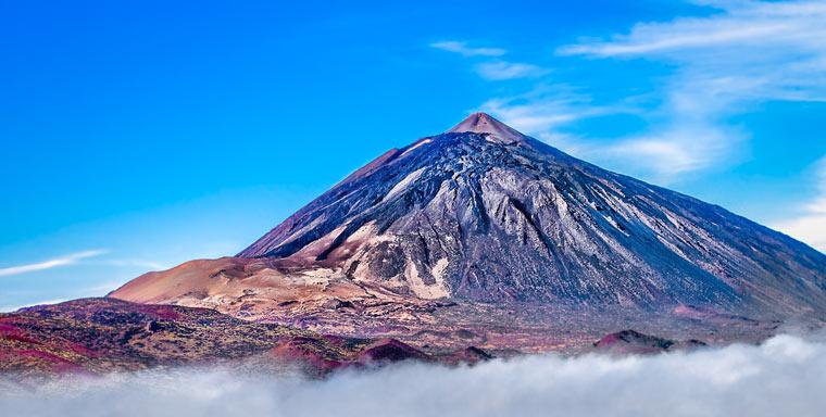 Mt Teide - Wulkan na wyspie Teneryfa