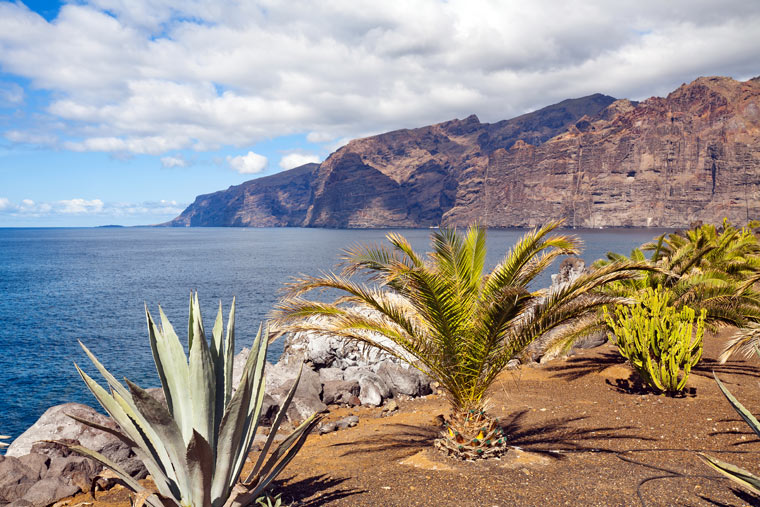 Klify Los Gigantes - Wyspa Teneryfa