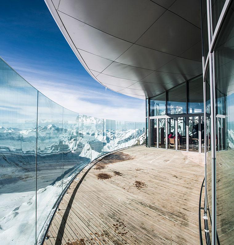 Tyrol, kawiarnia Pitztal